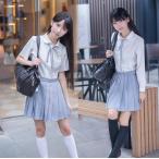 学生服 セーラー服 半袖 長袖 JK制服セット ホワイト