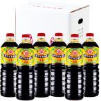 サクラカネヨ 濃口醤油 甘露 1000ml × 6本  吉村醸造/鹿児島 ケース買い