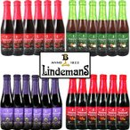 リンデマンス フルーツランビック 4種各6本 250ml瓶×24本セット