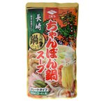 ニビシ醤油 長崎ちゃんぽん鍋スープ ストレートタイプ 3〜4人前