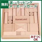 日本製の積み木 BorneLund ボーネルンド 社 オリジナル積み木 S 白木