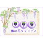 藤の花キャンディ 1個 個別包装 藤 花 お菓子 春