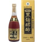 ※琉球もろみ酢 黒麹醪酢(黒糖タイプ) 720mL