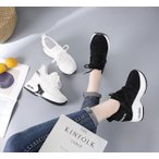スニーカー レディース Sneaker 走れるパンプス レディース インヒール 靴 身長アップ オックスフォード 厚底靴 スニーカーレースアップ レディース sasa966