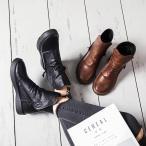 ブーツ レディース マーティンブーツ ショートブーツ 裏起毛 ファー付 クラシック靴 厚底 編み上げブーツ 美脚 歩きやすい 秋冬新作nasg141