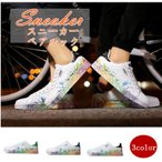 スニーカー メンズ レディース ローカット カップル ペアルック 白 男女サイズ カップルスニーカー 通学 学生 カジュアルシューズ レースアップ 靴 おしゃれの画像