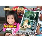 【送料無料】熊本県玉名産ヒノヒカリ10k入り【29年産】