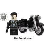 ターミネーター T1000 バイク付き 顔ももう1つ付属しています ミニフィグ レゴ互換