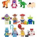 トイストーリー 4   バズライト イヤー ウッディ 他 ミニフィグ16体 (動物4体含む) レゴ互換 / アメコミ