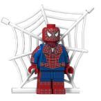 スパイダーマン   顔がもう1個 付属します  ミニフィグ レゴ互換  /  アメコミ  マーベル
