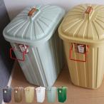 ペールペール PALE×PAIL IWLY4010 《2色セット》(ゴミ箱/ペール×ペール/おしゃれ/ふた付き/60リットル)
