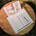 マナベル 学習台(本立て ブックスタンド 木製 子供用 学習机 学習デスク 書見台 読書見台) 1-2W
