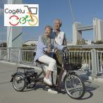 こげーる 三輪車 lively(三輪 自転車 高齢者 20インチ 20型 低床 大人 シニア向け自転車 おしゃれ) メーカー直送 1-2W