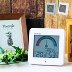 MAG デジタル温度湿度計 インデクス TH-104(デジタル温度湿度計時計 デジタル温度湿度計 温度湿度計 デジタル 壁掛け)
