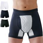 男性用失禁パンツ サイドシークレット 1枚(失禁パンツ 男性用 尿漏れパンツ 男性 メンズ 下着 インナー ボクサー パンツ)