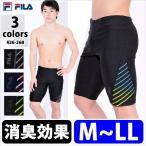 FILA(フィラ) メンズ フィットネス水着 男性用 スパッツ型 スイムボトム スイムウェア スクール水着 競泳水着 M/L/LL 426268 メール便送料無料