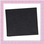 Yahoo!綺麗屋さんプラダ PRADA コンパクト 二つ折り財布 サフィアーノカーフ SAFFIANO-2MO738-ブラック/NERO