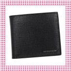 バーバリー BURBERRY 二つ折り財布 メンズ ロンドンレザーCCBILLCOIN-3997618-ブラック