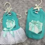 犬服 LUNA BLUE  Sniffany Love Gift Box White Heart Dressワンピースドレス