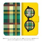 mitas Xperia XZ2 Premium SO-04K ケース 手帳型 メガネ 秋 柄 A (392) SC-2364-A/SO-0
