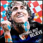 ルカ・モドリッチ クロアチア代表 海外サッカーグラフィックアートパネル 木製 壁掛け インテリア ポスター