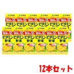 伊藤園 1日分のビタミン12種 ビタミン野菜 200ml×12本
