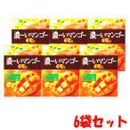 【6袋セット】アサヒグループ食品 濃ーいマンゴー 88g×6【軽減税率対象商品】