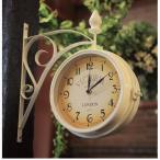 ジャービス商事 ウォールデコレーション ガーデン時計 ビクトリアW ●37906