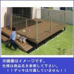 三協アルミ ひとと木2 ドッグランセット(門扉+フェンス) 門扉間口取り付け 高さ1200mm 1.0間×3尺 *デッキ本体は別売です。