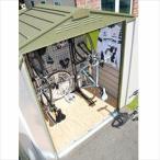 ショッピング自転車 自転車置き場 ガーデナップ 自転車倉庫 TM6サイクルプラス D60TM6CPOG 『家庭用 サイクルポート 物置型 おしゃれ』 オリーブグリーン