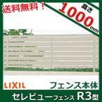 LIXIL 新日軽 セレビューフェンスR3型 本体 H=1000用 (太横パネル) 【アルミフェンス 柵】