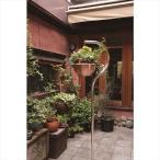 愛紳照明 San Francisco Flower 本体 #SO-60 ステンレス(SUS304)製 『銅製鉢植 DW380 ×1個 、吊り下げ金具