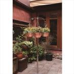 愛紳照明 San Francisco Flower 本体 #SO-63 ステンレス(SUS305)製 『銅製鉢植 DW300 ×3個 、吊り下げ金具
