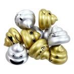 ぷかぷかうんちくん金銀バージョン(税別¥35×50個){ 人形すくい すくい人形 ツムツム 祭り 景品 子供会 お風呂遊び }-B4F1