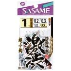 ささめ(SASAME) C-232 ワカサギ 激渋 1号-0.2 5枚セット