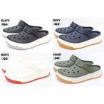 メンズ クロックス crocs crocband full force clog 206122 066 BLACK 462 NAVY 100 WHITE 34E KHAKI