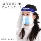 即納 透明マスク フェイスシールド フェイスガード 花粉症対策 飛沫を防ぐ 防塵 感染対策 かぶり型防災面 防災面 ヘッドギア シールド 保護具 ウイルス対策