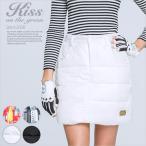 ダウン台形キルティングスカート(撥水加工) /ゴルフ ウェア レディース 女性用