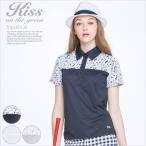 レース付き半袖カットソーシャツ/ゴルフ ウェア レディース 女性用