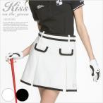 モノトーンパイピングスカート/ゴルフ ウェア レディース 女性用