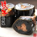 数の子昆布巻 150g(中箱)北海道産コンブで仕上げたカズノコをこんぶ巻に致しました。朝食をはじめ、晩御飯にもオススメです【メール便対応】