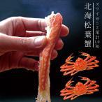 北海松葉ガニ(ズワイガニ)大2尾(ボイル)計1.0キロ 越前蟹や松葉ガニ、加能がにと呼ばれるずわいがに。解凍してすぐに食べれる松葉蟹です