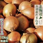 玉ねぎ 10kg (サイズ無選別 訳ありB品) 北海道産たまねぎ(玉葱) 規格外タマネギ 黄玉葱 札幌黄の品種改良品 送料無料