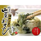 山菜わさび240g(酒めしに旨し)国産の野菜を使用した(かす漬)になります。(野菜 山菜 山葵)(ワサビ 粕漬け 漬物 ごはんのお供 酒の肴)