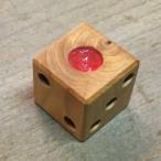 木製 サイコロ  北海道製 イチイの木 ハンドメイド 手作り 木工 ダイス 6面 さいころ 国産 日本製