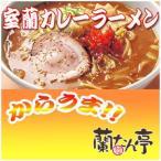 さがみ屋 室蘭有名店 蘭たん亭 カレーラーメン(1食入)