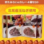 日本一の玉ねぎ産地のカレー「きたみらいのカレー4箱セット」