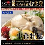 北海道 厚岸産 生食 牡蠣 むき身 500g × 2袋 セット 産地直送 お刺身用 カキ かき 生牡蠣 海鮮 お祝い 厚岸