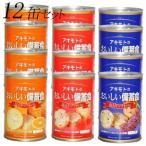 アキモト 缶入りソフトパン(レーズン味・ストロベリー味・オレンジ味)おいしい備蓄食 100g 12缶入 送料無料