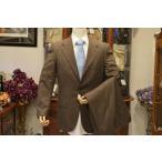 ◆キートン◆3つボタン カシミア100% ブラウンスーツ 超高級 KITON